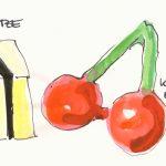 Lakritzkonfekt, Kirschen